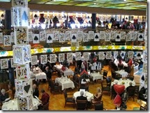 La Fontaine Dining Room, Five Oceans Casino Formal Night