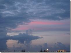 Sunset at Papeete