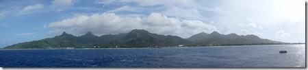 Rarotonga, pano