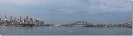 Sydney at dawn