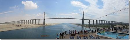Suez Bridge Pano