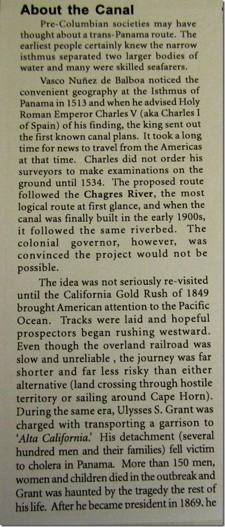 Panama Canal pt. 1