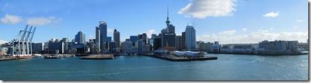 Auckland Harbor, NZ