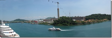 View of Sentosa Island